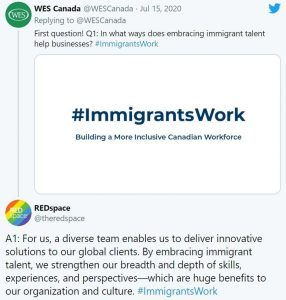 #ImmigrantsWork Campaign